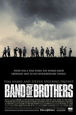 Band of Brothers Giant Poster A0 A1 A2 A3 A4 Sizes