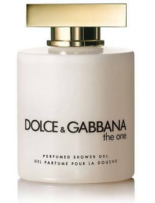 Gel Parfumé pour la Douche THE ONE de DOLCE & GABBANA 200 ML NEUF / Shower gel