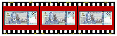 HAITI 3 PCS 3 X P-275a 100 GOURDES 2004 BANKNOTES UNC CONSECUTIVE SERIAL NUMBERS