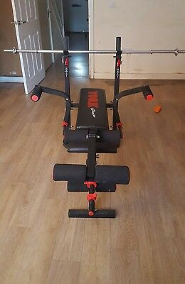 Weight Lifting Bench and Punching Bag