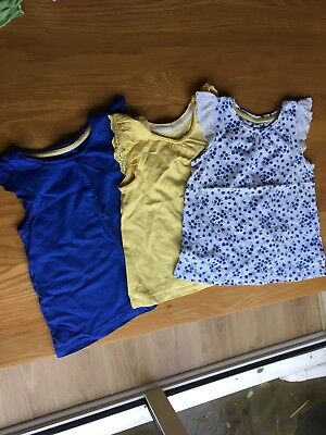 girls mothercare t shirts 18-24 months