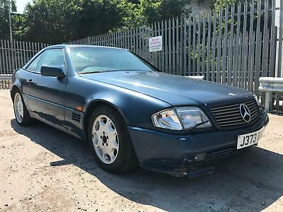 1991 Mercedes-Benz SL 500 CONVERTIBLE R129 STARTS+DRIVES SPARES OR REPAIRS