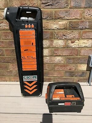 C-Scope CAT Scanner Cable Detector & Radiodetection Genny