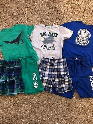 boys gymboree size 6 summer lot of 7 items
