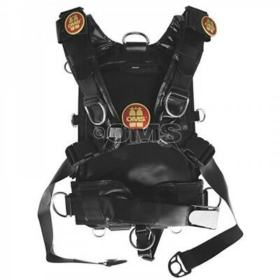 OMS IQ Backpack Harness-System Chemical Resistant - Gr. M-L