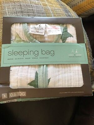 ♡aden + anais Up, Up and Away Single Layer sleeping bag Small 0-6 months NEW♡