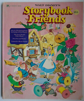 Walt Disney's Storybook Friends, Alice in Wonderland, Peter Pan, Golden, 1976