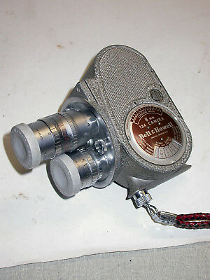 vintage movie camera Bell and Howell model 134