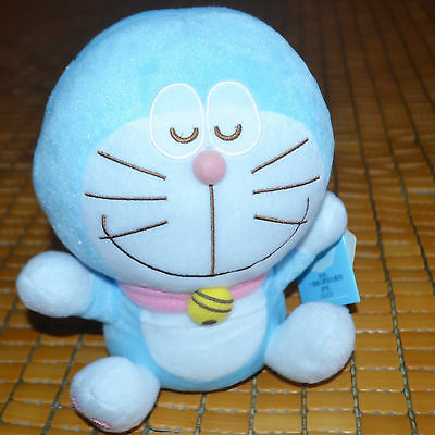 """7"""" Doraemon with SWEET SMILE soft Plush stuffed Doll toy collectible gift"""