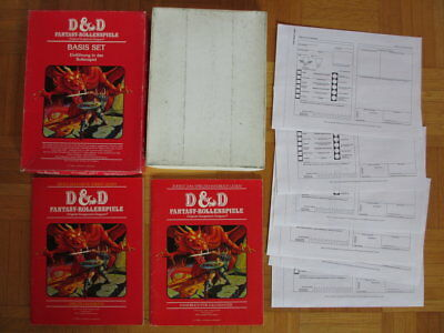 Dungeons & Dragons Basis Set Box 8500/9 - D&D DM FSV Fantasy Rollenspiele Guide