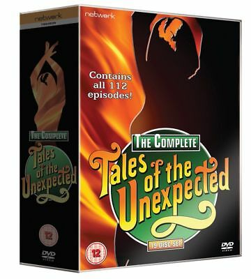 TALES OF THE UNEXPECTED box set TV series. 19 discs. 112 episodes New sealed DVD