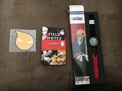 Soul Eater Patch Rwby Field Notes Memo Book Bleach Watch lootanime