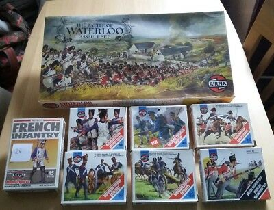 Airfix 40604 THE BATTLE OF WATERLOO ASSAULT SET  +  8 Figuren Set   1 / 72 HO