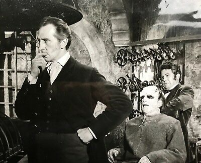 """Vintage Photograph (1964) Peter Cushing""""The Evil Of Frankenstein""""A Still."""