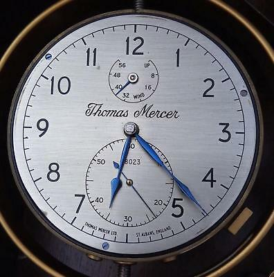 Outstanding  Thomas Mercer Marine Chronometer No. 28023 Near Mint Condition