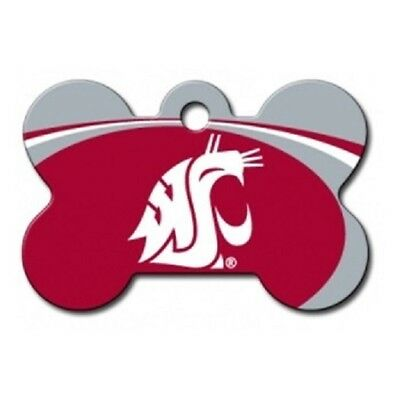 Washington State Cougars Dog ID Tags for Cat ID and other pets  NCAA bone shaped
