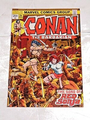 Conan The Barbarian #24 comic (9.2 NM-) 1st full app. Red Sonja