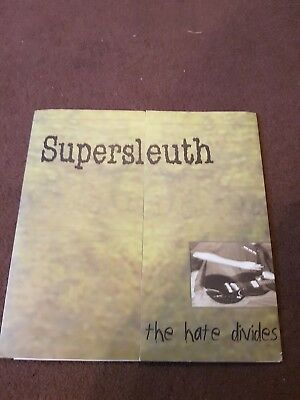 Supersleuth - The Hate Divides 7''