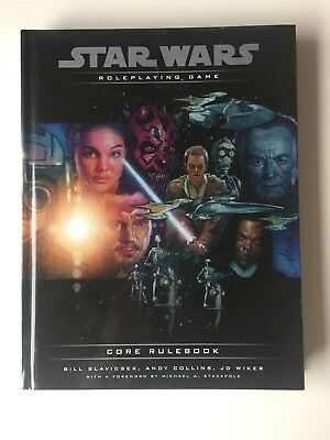 Star Wars Roleplaying Game - Core Rulebook. -Englisch-