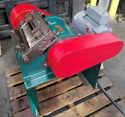 """Star 5"""" Stock Chopper for chopping metal strip stock press side scrap recycle"""