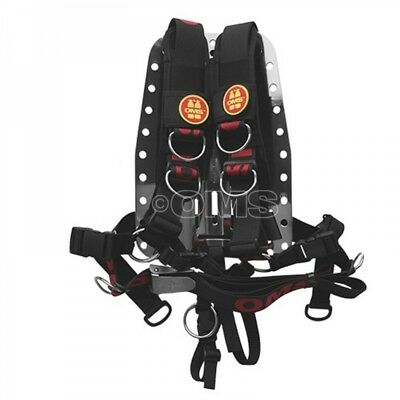 OMS Comfort Harness System II mit SS-Backplate - Gr. S/M