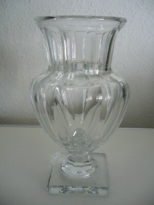 Baccarat exklusive Kristall Glas Vase Baccarat Marie Louise Museum Crystal