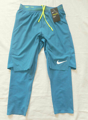 NIKE AeroSwift 2-in-1 Running Shorts (852321-457) Gr. S NEU
