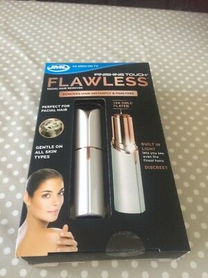 Finishing touch flawless facial hair remover - bnib