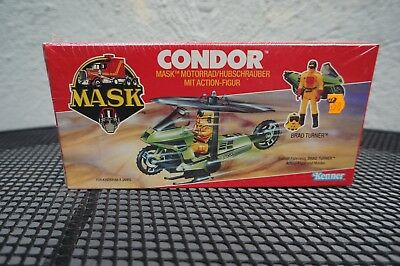 M.A.S.K. Kenner CONDOR German / Euro FACTORY SEALED Box MISB 1985