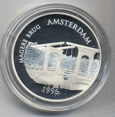 Frankreich 100 Fr / 15 Euro Magere Brug/Amsterdam 1996 PP