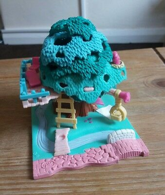 Vintage Polly Pocket Tree House 1993. 100% Complete