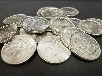 US Silver Morgan Dollar Roll of 20 1921 Dated UNC Sound Uncirculated NO RESERVE