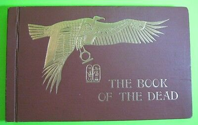 RARE_BOOK of the DEAD 🔥 ANCIENT EGYPT_KINGS QUEENS_PAINTED TOMBS_COLORED PLATES