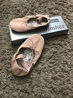 Danshuz Toddler Ballet Shoes Size 8.5