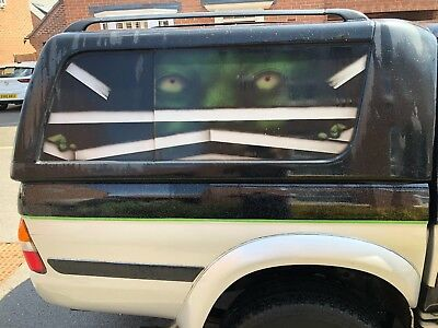 Mitsubishi L200 with Air brushed finish (ONE OF A KIND)
