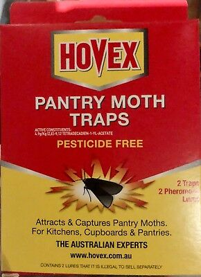 PANTRY MOTH TRAPS (pesticide free)  New & Sealed