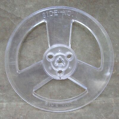 Empty 7 Inch Take Up Reel to Reel Plastic Old Stock 44-279 Radio Shack No Box