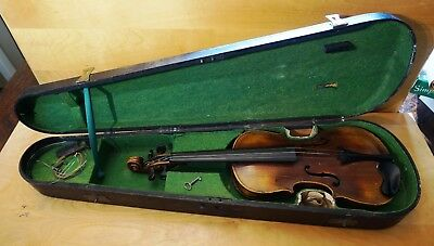 Antique Jacobus Stainer Violin with Case - Absam prope Oeniponium 1665