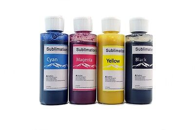 Sublimation ink for sawgrass virtuoso sg400 sg800120 ml x 4 for CISS