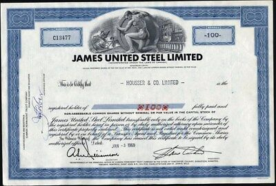 James United Steel Limited Of Canada