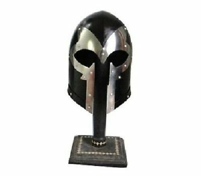 Details about  New Medieval Barbute Helmet Armour Helmet Roman knight helmets I