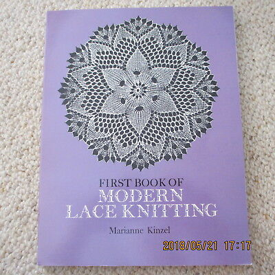 First Book of MODERN LACE KNITTING / Marianne Kinzel
