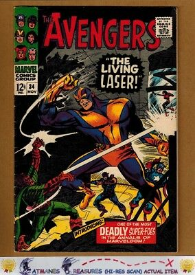 Avengers #34 (8.0) VF By Stan Lee 1966 Silver Age Key Issue