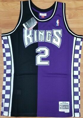 Mitch Richmond   2 Sacramento Kings Mitchell   Ness NBA Mesh Swingman Jersey d156de49a