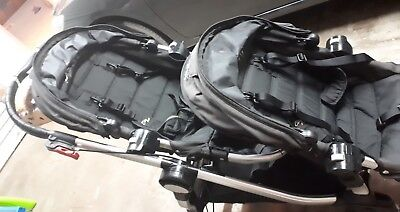 Double City Select Baby Jogger Pram In Good Condition.