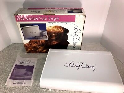 Lady Dazey Soft Bonnet Hair Dryer With And Manual