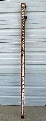 10' Lietz/Holbro Made in England Direct Elevation Rod In 10ths Surveying
