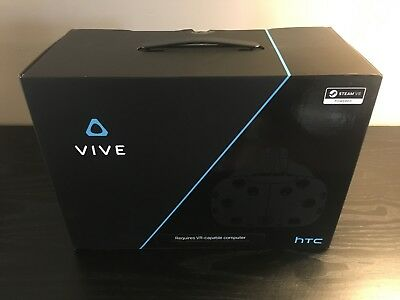 HTC VIVE Virtual Reality System VR Headset and Accessories | NO RESERVE!