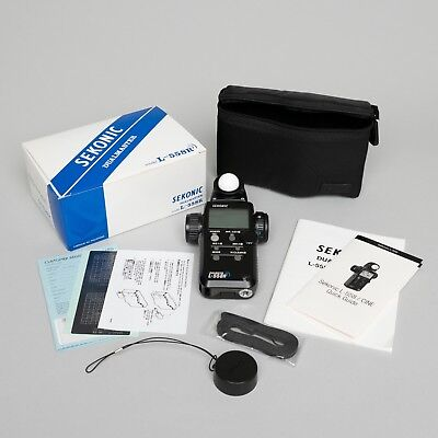 Sekonic L-558R Light Meter with PocketWizard Transmitter