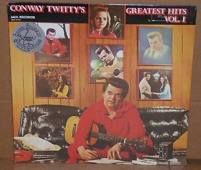 Conway Twitty Greatest Hits vol 1 LP vinyl record NEW SEALED cut out twitty's